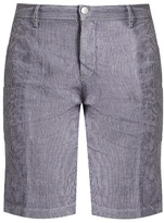 Massimo Alba Velta Striped Linen Shorts