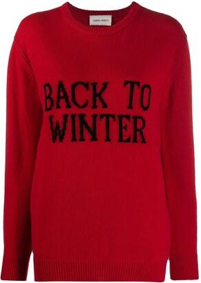 Alberta Ferretti Back to Winter jumper