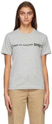 Comme des Garçons Shirt Grey Logo T-Shirt