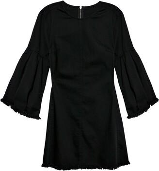 Free People Reckless Life Long Sleeve Denim Dress