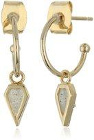 Tai Mini Charm Hoop Earrings