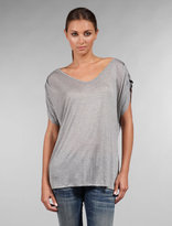 Kain Gathered Sleeve V Tee