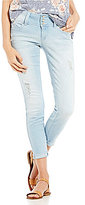 YMI Jeanswear WannaBettaButt Roll-Cuff Ankle Skinny Jeans