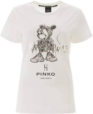 Pinko I Am Unique Print T-Shirt