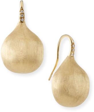 Marco Bicego Africa 18k Diamond Large Drop Earrings