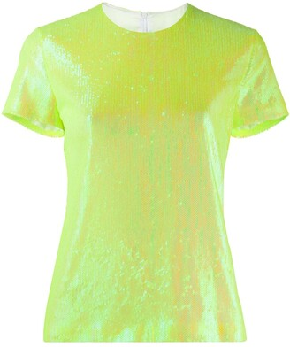 MM6 MAISON MARGIELA Iridescent Sequined Top