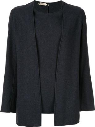 Hermes Margiela Ensemble knitted top