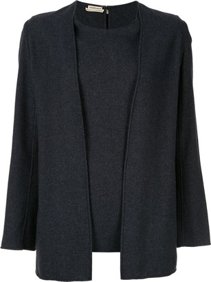 pre-owned Margiela Ensemble knitted top
