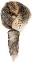 Dolce & Gabbana fur scarf - women - Silk/Fox Fur - One Size
