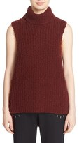 3.1 Phillip Lim Women's Boucle Knit Wool Blend Top