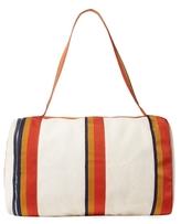 Vintage Beige Canvas Cavalier Bag