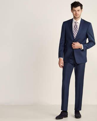 Tommy Hilfiger Two-Piece Blue Sharkskin Suit