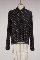 Majestic Filatures Cotton and cashmere dotty Shirt