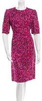 Louis Vuitton Printed Midi Dress w/ Tags