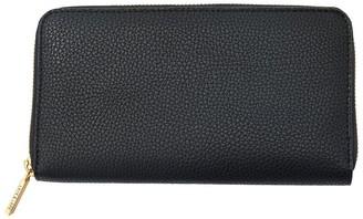 Love & Lore Love And Lore Ava Zip Wallet Black