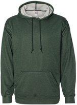 Badger Adult Pro Heather Fleece Hooded Sweatshirt - BD1450 XS