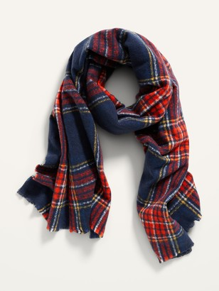 Old Navy Soft-Brushed Flannel Scarf for Women