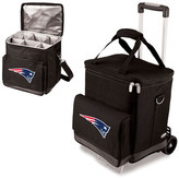 Picnic Time New England Patriots Cellar Trolley