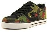 DC Pure Sp Men Round Toe Canvas Green Sneakers.