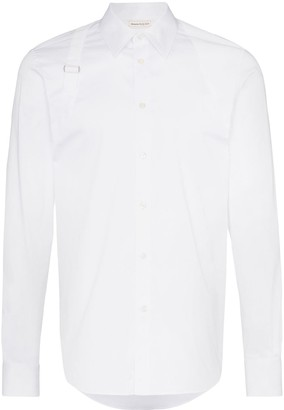 Alexander McQueen Harness buckle detail shirt