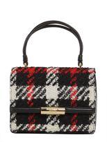 Moschino Tartan Wool Bag