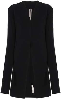 Rick Owens Collarless knitted jacket