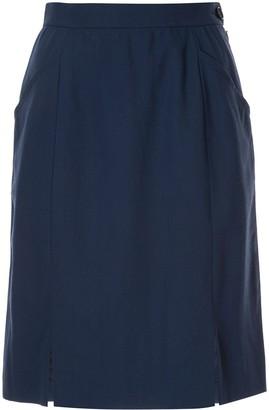 Yves Saint Laurent Pre Owned Straight Short Skirt