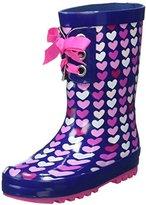 Pumpkin Patch Girls Lace up Gumboot Rain Boots,34 EU