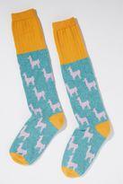 Anthropologie Catherine Tough Llama Knee Socks
