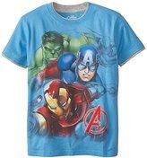 Lego Marvel Big Boys' Avengers Big Characters T-Shirt