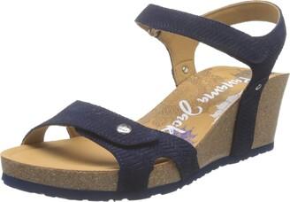 Panama Jack Women's Julia Menorca Ankle Strap Sandals