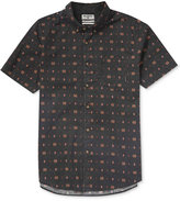Billabong Men's Jetson Geo-Print Cotton Shirt