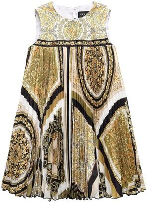 Versace Baroque Print Twill Dress