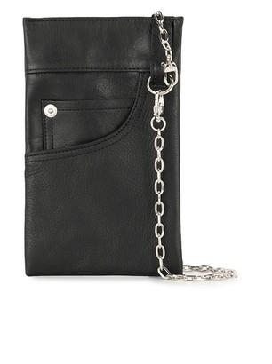 Yohji Yamamoto Pocket-Shaped Wallet