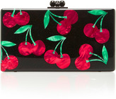 Edie Parker M'O Exclusive Obsidian Cherries Clutch