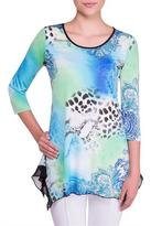 Nygard Collection Shark Bite Tunic