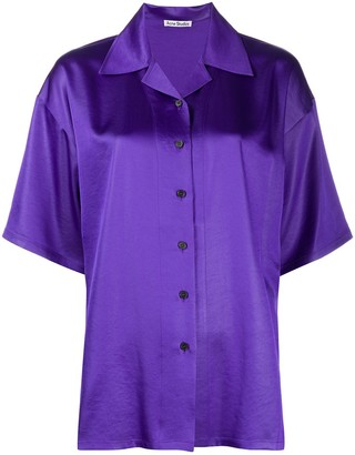 Acne Studios Button-Front Shirt
