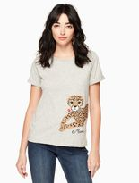 Kate Spade leopard tee