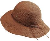 Helen Kaminski Rollable Raffia Crochet Hat