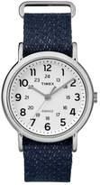Timex Women's Classic Weekend Woven Strap Watch, 38mm