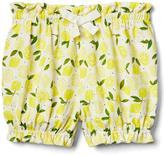 Print bubble shorts