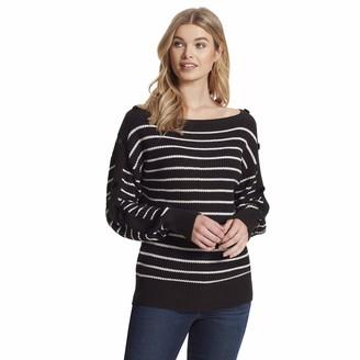 Jessica Simpson Women's Adley Boat Neck Pullover Sweater