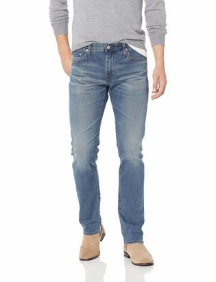 AG Jeans Men's The Matchbox Slim Straight Leg LED Denim Jean