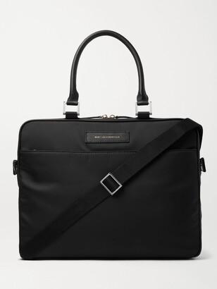 WANT Les Essentiels Haneda Leather-Trimmed Nylon Briefcase - Men - Black