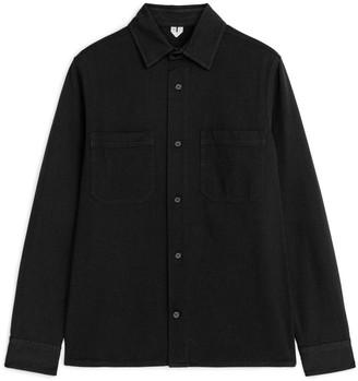 Arket Cotton Twill Overshirt