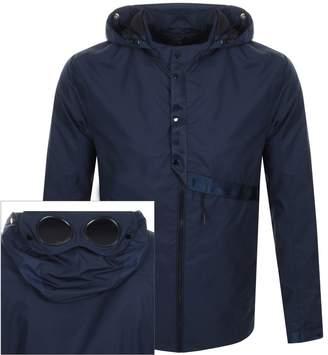 C.P. Company C P Company Goggle Hood Overshirt Jacket Navy