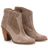 COACHELLA SUEDE ANKLE BOOTS