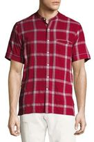 Ovadia & Sons Crosby Slim-Fit Plaid Shirt