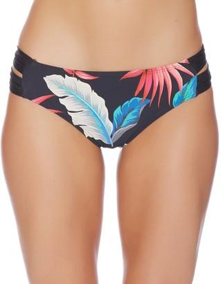 Athena Women's Laurel Tab Side Swimsuit Bikini Bottom Avant Tropic Multicolor X-Small