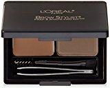 L'Oreal Cosmetics Stylist Prep and Shape Brow Liner Kit, Medium To Dark, 0.12 Ounce